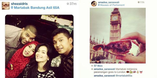 Martabak Toblerone bahkan dibawa sampai London lho.. | Foto: instagram.com/martabak65A