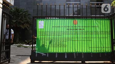 FOTO: Sejumlah Pegawai Reaktif COVID-19, PN Jakarta Pusat Tutup Sementara
