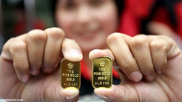 Emas Antam Ukuran 10 Gram Paling Banyak Dibeli Bisnis Liputan6com