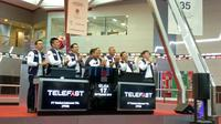 PT Telefast Indonesia Tbk selaku anak usaha PT M Cash Integrasi Tbk resmi mencatatkan nama di Bursa Efek lndonesia (BEI).