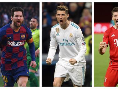 FOTO: 5 Pencetak Gol Terbanyak di Fase Semifinal dan Final Liga Champions Sepanjang Sejarah, Cristiano Ronaldo Teratas