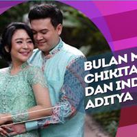 Selesai Resepsi, Chikita Meidy -Indra Aditya Langsung Bulan Madu ke Maladewa.