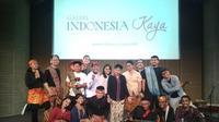 Acara Oryza Lokabasa di Galeri Indonesia Kaya/A M Awwal