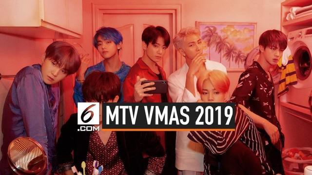 Nominasi MTV VMA 2019 telah diumumkan. Sederetan nama beken masih masuk dalam beberapa kategori, uniknya tahun ini ada kategori baru yaitu kategori Best K-Pop.