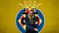 Villarreal - Unai Emery (Bola.com/Adreanus Titus)