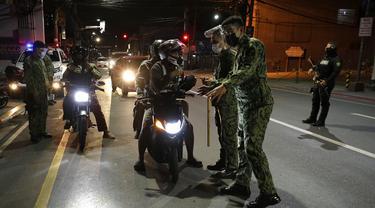 FOTO: Filipina Laporkan Lonjakan Kasus COVID-19 Lebih dari Seminggu