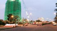Gedung Bank Panin di Bintaro belum dirobohkan (Pramitha Tristiawati/Liputan6.com)