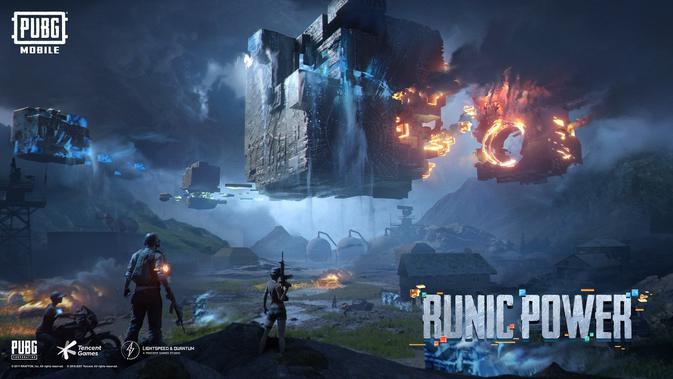 PUBG Mobile versi 1.2 memperkenalkan Runic Power di dalam gim. (Doc: Tencent Games)