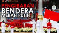 Saksikan Live Streaming pengibaran bendera pusaka di Istana Kepresidenan Jakarta. (Liputan6.com)