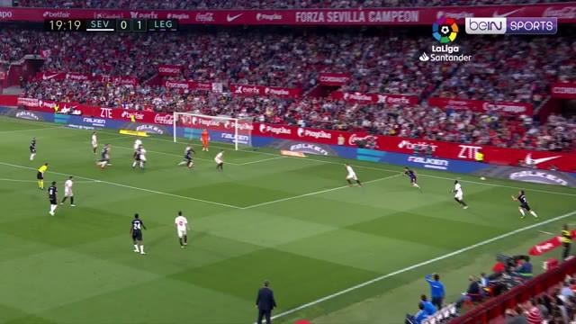 Berita video highlights La Liga 2018-2019 antara Sevilla melawan Leganes yang berakhir dengan skor 0-3 di Estadio Ramon Sanchez Pizjuan, Jumat (3/5/2019).