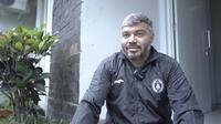 Manajer tim PSS Sleman, Danilo Fernando. (Dok PSS Sleman)