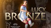 Lucy Bronze. (dok. UEFA)