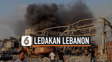 ledakan lebanon 4