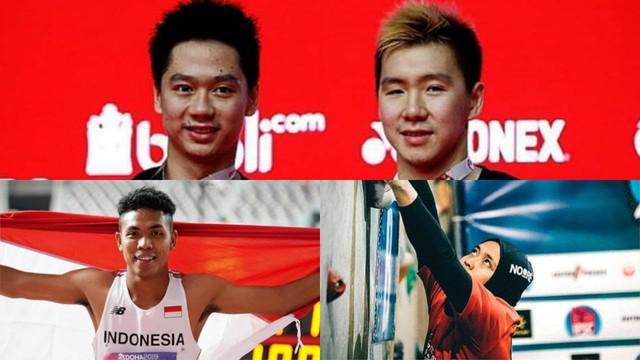 Beberapa nama atlet Indonesia sukses jadi sorotan dunia setelah berhasil menjuarai berbagai ajang internasional. siapa sajakh mereka?