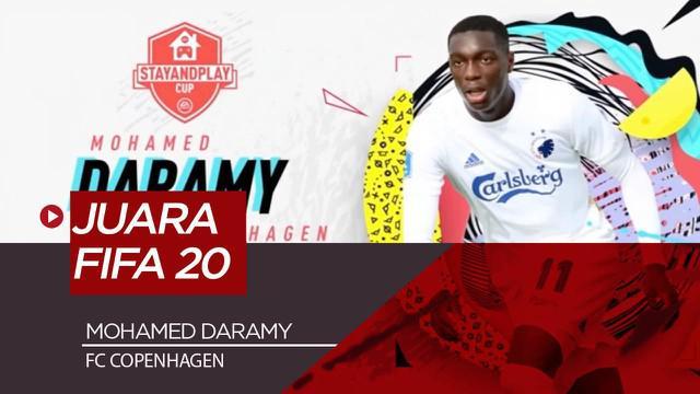 Berita Video Mohammed Daramy Juara Kompetisi E-Sport FIFA 20 dan Raih Donasi 1 Juta Dollar Untuk COVID-19