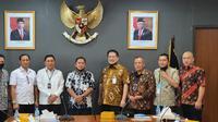 Kerja sama dua lembaga negara tersebut disepakati dalam Rapat Koordinasi.