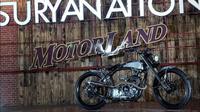 Modifikasi Yamaha Scorpio jadi motor terbaik di Suryanation Motorland Regional Jabodetabek (Foto: Istimewa).