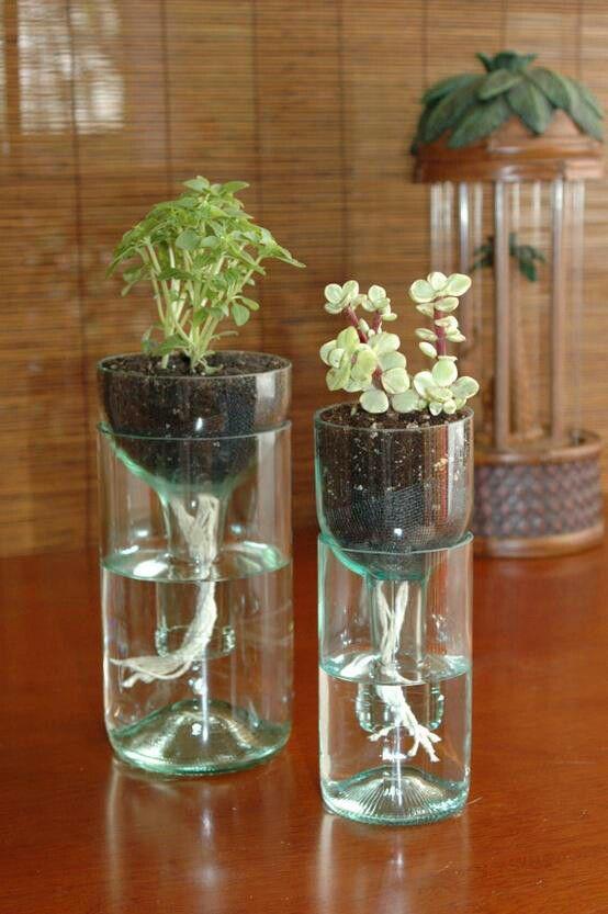 8 Ide Memanfaatkan Botol Kaca Tak Terpakai Untuk Dekorasi Rumah Lifestyle Fimela Com