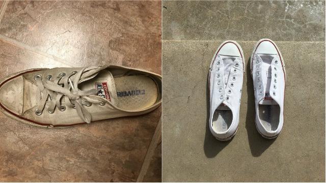 Membersihkan sepatu kanvas (0) e42b2b7c44