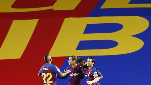 FOTO: Barcelona Tekuk Leganes 2-0, Lionel Messi Sumbang Gol