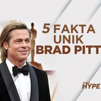 Brad Pitt dan 5 Fakta Tentang Dirinya