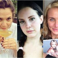Penampilan Artis-artis cantik Hollywood tanpa make-up (Bintang Pictures)