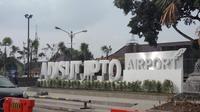 Bandara Adi Sutjipto di Yogyakarta. (Liputan6.com/Switzy Syabandar)