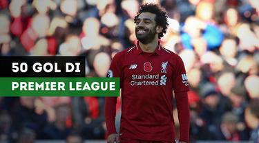 Berita video para pemain tercepat yang mencetak 50 gol di Premier League sepanjang sejarah.