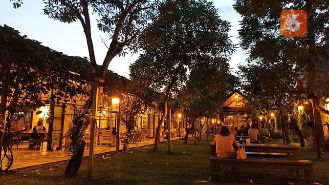 Hasil foto Redmi Note 10S malam hari (Liputan6.com/ Agustin Setyo W)