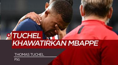Berita Video Pelatih PSG, Thomas Tuchel Mengaku Ngeri Melihat Cedera yang Menimpa Kylian Mbappe