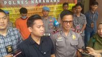 Kasatreskrim Polres Karawang, AKP Bimantoro Kurniawan. (Liputan6.com/ Abramena)
