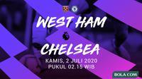 Premier League - West Ham United Vs Chelsea (Bola.com/Adreanus Titus)