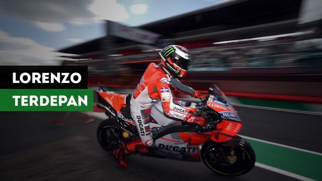 Jorge Lorenzo sukses merebut pole position pada MotoGP Catalunya. Nasib Valentino Rossi sedikit berbeda, ia hanya bisa start pada posisi ketujuh.