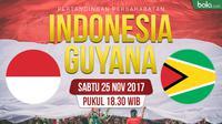 Persahabatan Indonesia Vs Guyana_2 (Bola.com/Adreanus Titus)