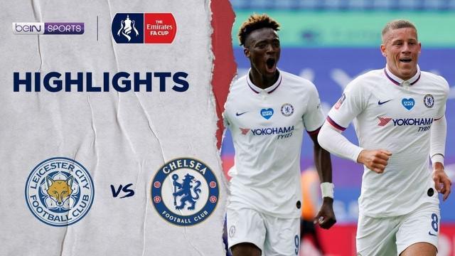 Berita video perempat final Piala FA 2019-2020, Chelsea mennyingkirkan Leicester City berkat gol tunggal dari Ross Barkley, Minggu (28/6/2020).
