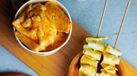 Menu khas makanan Korea di Kopi Janji Doang Jogja. (dok. Instagram @kopijanjidoang.jogja/https://www.instagram.com/p/CIeyX5qh6Zt/)