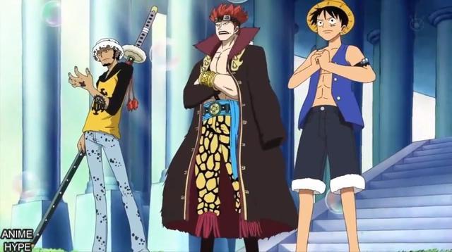 Salah satu adegan dalam anime One Piece. (Toei)