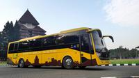 Molina UI-EV Bus, bus listrik buatan Tim Mobil Listrik Nasional UI FTUI  siap dikomersialisasikan (Foto: UI)