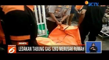 Ledakan tabung gas 12 kg terjadi di sebuah rumah di kawasan Cengkareng, Jakarta Barat. Satu orang meninggal dunia dalam peristiwa tersebut.