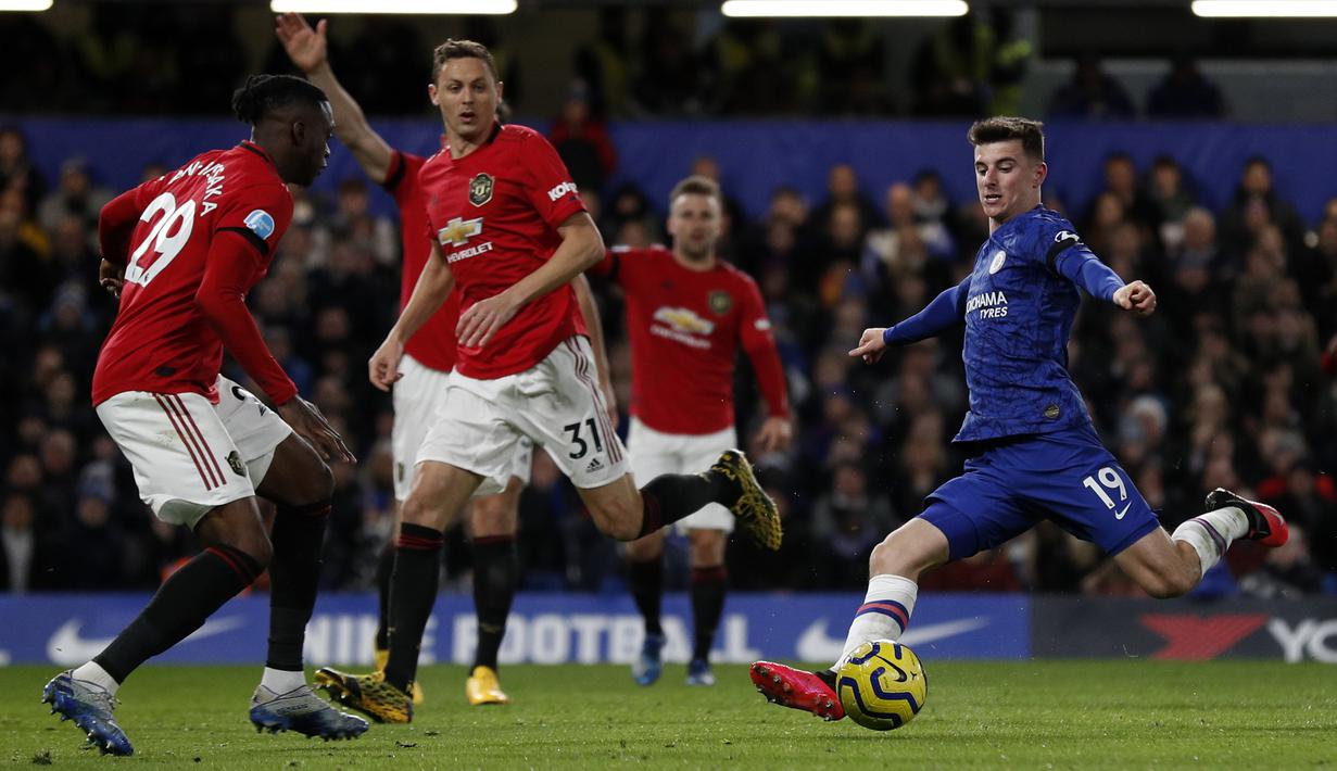 FOTO Manchester United Tekuk Chelsea Di Stamford Bridge