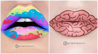 8 Lukisan Bibir Ini Unik dan Kreatif, Ada Beragam Kreasi Menarik