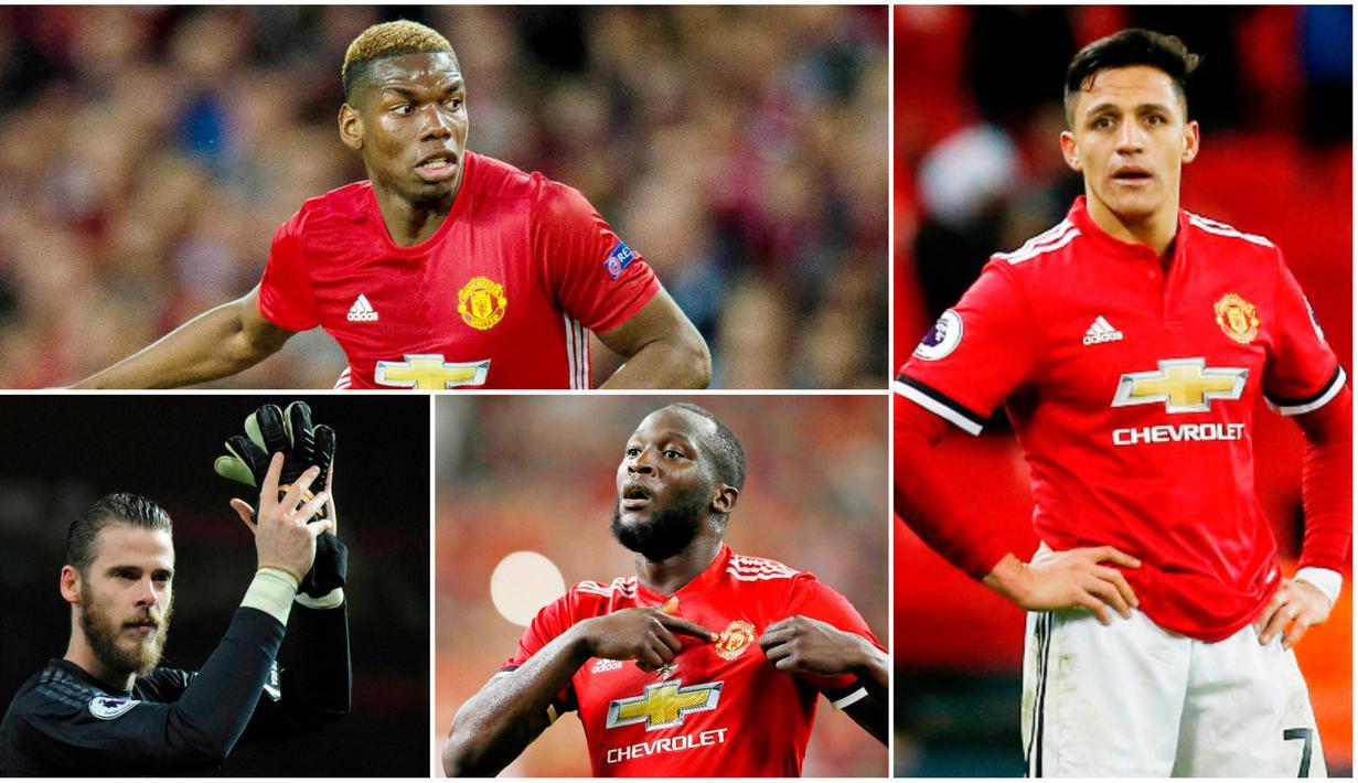 FOTO 7 Pemain Dengan Gaji Tertinggi Di Manchester United