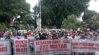 Awalnya, warga terdampak pembangunan bandara baru di Kulon Progo, Yogyakarta, meminta direlokasi. (Liputan6.com/Yanuar H)