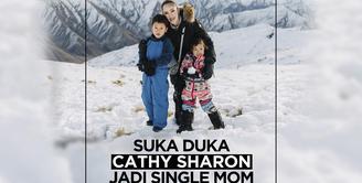Cathy Sharon: Anak-anak Adalah Sumber Kebahagiaan Saya