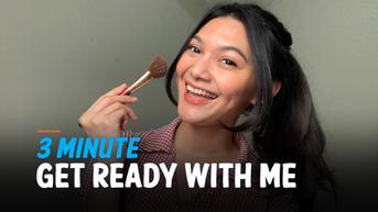 VIDEO: Mudah dan Cepat! 3 Minute Daily Make Up Tips