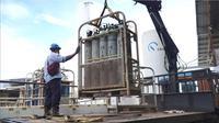 Pabrik gas oksigen.