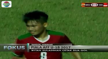 Lihat lagi aksi tiga bintang lapangan saat Indonesia tumbangkan Brunei Darussalam di Piala AFF 2017.