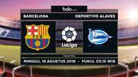 La Liga Barcelona Vs Deportivo Alaves (Bola.com/Adreanus Titus)