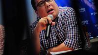 Anggota Tim sukses Jokowi-JK , Arif Budimanta mendorong agar lembaga survei diaudit, karena hal ini dilakukan untuk mengetahui kebenaran hasil survei yang dilakukan lembaganya. (Liputan6.com/Faizal Fanani)