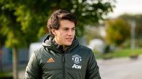Pemain Manchester United, Facundo Pellistri. (Twitter/Manutd)